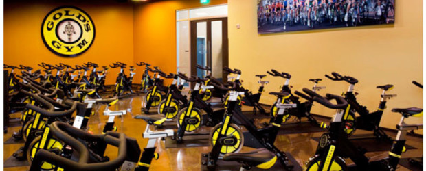 golds gym indoor cycling