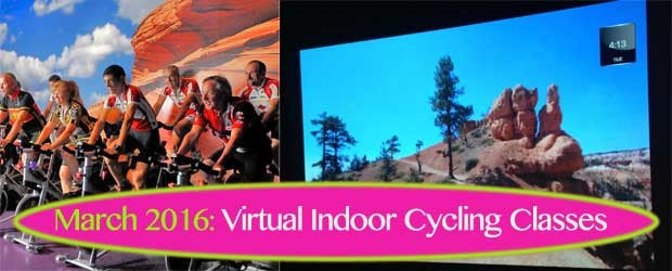 virtual indoor cycling