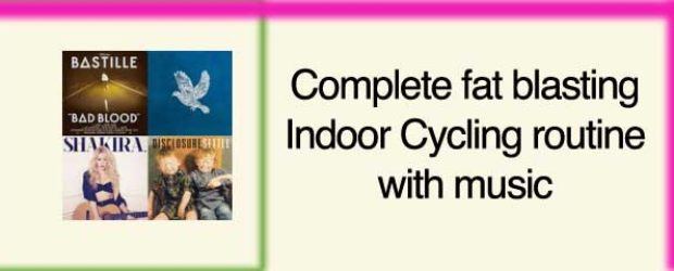indoor cyclng workout