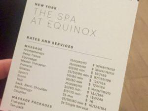 equinox spa vancouver