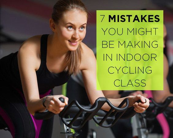 indoor cycling mistakes