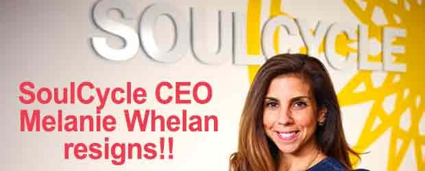 SoulCycle CEO Melanie Whelan resigns
