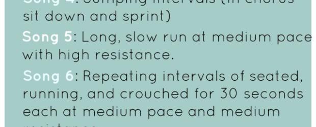 indoor spinning routine
