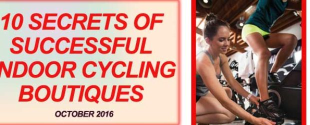 indoor cycling class