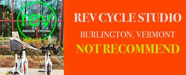 REV CYCLE STUDIO BURLINGTON VERMONT